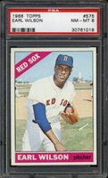 1966 Topps Earl Wilson card