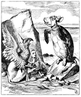 John Tenniel`s original (1865) illustration for Lewis Carroll`s