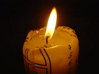 Calendar candle