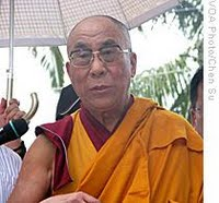 Dalai Lama at Xiaolin Village 31 Aug 09
