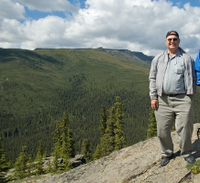 Dale Sinder in Alaska