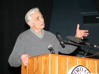 Howard Zinn Speaking at Marlboro College - 02/17/2004