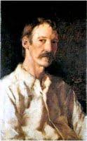 Robert Louis Stevenson, portrait by Girolamo Nerli