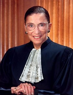 Ruth Bader Ginsburg, official portrait