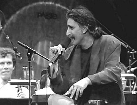 Frank Zappa rehearsing with Ensemble Modern, Frankfurt am Main, September 1992