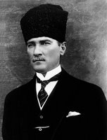 Photo of Mustafa Kemal Atatürk from the 1920s