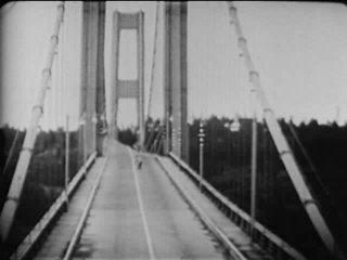 Tacoma Narrows Bridge nears collapse