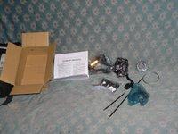 Parts box contents