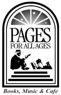 Pages For All Ages bookstore logo